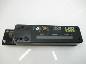 lrd6110c Lion Precision Label Sensor Free Shipping used Tested