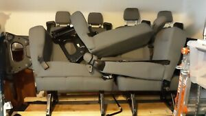 2017 Ford Transit Van Gray Cloth Passenger Seats local Pick Up Only