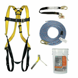 Msa Safety Works 10095901 6 Piece Fall Protection Kit Ansi A10 32 And Osha
