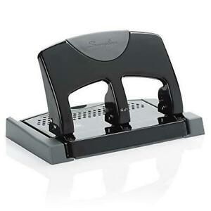 Swingline 3 Hole Punch Desktop Hole Puncher 3 Ring Smarttouch Metal Paper