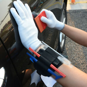 Window Tint Car Wrap Application Tools Wristband Magnetic Micro Squeegee Set Kit