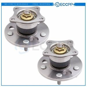 Pair 2 Rear Wheel Hub And Bearing Assembly For Es300 Avalon Camry Solara W abs