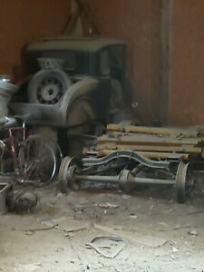 1931 Ford Model A Coupe Barn Find 1932