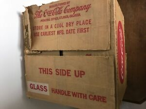 (4) 1960's Coca Cola Fountain Syrup Gallon Glass Jugs With Paper Label
