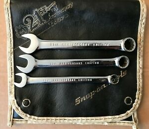 Snap On Spanner 21st Anniversary Edition 9mm 11mm 12mm Combination Spanner