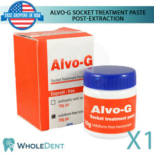 Alvo g Dry Socket Treatment Paste Post Teeth Extraction Cure Dental Non Iodoform