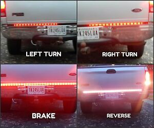 Chevy Truck Tailgate Tailight Bar 60 5050 Smd Rgb Led Stop Reverse Turn Signal