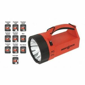 Nightstick Xpr 5580r Dual Light Lantern rechargeable red