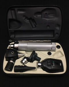 Welch Allyn 26500pneumatic Otoscope 25020 Ophthalmoscope 11720 diagnostic Set