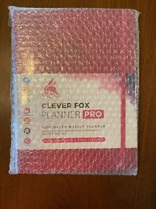 Clever Fox Planner Pro Undated Weekly Monthly Life Planner Free Shipping
