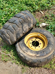Solid Rubber Skid Steer Tires 12 X 16 5 New Holland Lx885