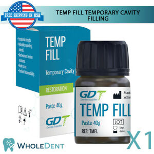 Temporary Restorative Material Dental Filling Home Use First Aid Tooth Cavity