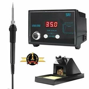 Digital Soldering Iron Station With Soldering Stand Tip Cleaning Wire Sponge