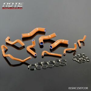 For 89 93 Mazda Roadstar Miata Mx 5 Na6ce B6ze 1 6l Silicone Radiator Hose Kit
