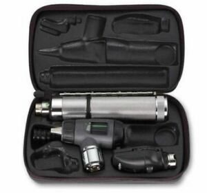 Welch Allyn 97100 m Diagnostic Set Ophthalmoscope Macroview Otoscope