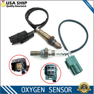 2pcs Ups Downstream O2 Oxygen Sensors For 2004 2005 2006 Nissan Altima L4 2 5l
