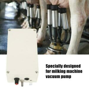 Electric Milking Machine Vacuum Pump Suction Milker For Dairy Farm Cow Goat 12v