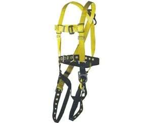 Ultra Safe Positioning Type Full Body Harness With Safety Belt small Large