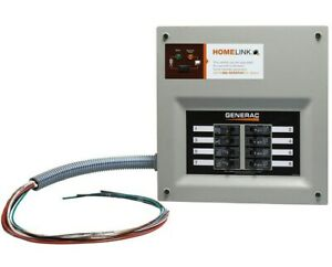 Generac Homelink Upgradeable Pre wired Manual Transfer Switch 30 Amps
