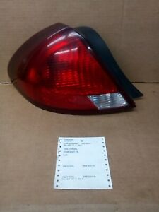 2000 2003ford Taurus Tail Light Lamp Left Driver s Side 166 01859l