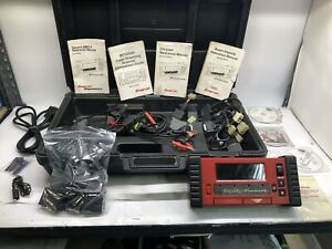 Snap on Mtg2500 Diagnostic Graphing Scanner With Cartridges Cables Case Etc