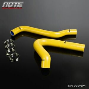 Yellow Silicone Radiator Hose Kit For 1967 1972 Chevy C K Series C10 Pickup