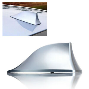 Shark Fin Antenna Cover Replacement Silver Signal Receiver Vortex Stereo Cover