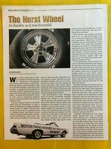 Hurst Wheels Beautiful Aircraft Grade Strongest Safety Original Article