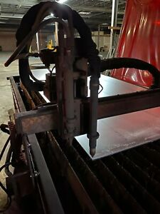 Plasmaroute 4x8 Cnc Plasma And Oxy fuel Table With 1 Yr Old 120a Plasma Cutter