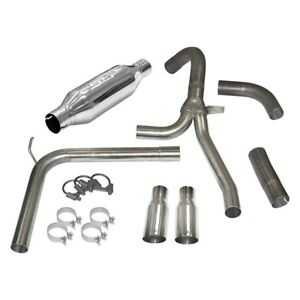 For Chevy Camaro 98 02 Exhaust System Loud Mouth Stainless Steel Axle back