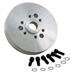 Weiand Supercharger Double Groove Drive Pulley Chevy Small Block Gen Ii