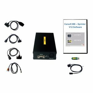 Mercedes Diagnostic System Carsoft Oem For Mb Vehicles Until My 2005