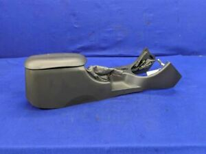 2003 2004 Ford Mustang Cobra Terminator Center Console Charcoal Black Leather