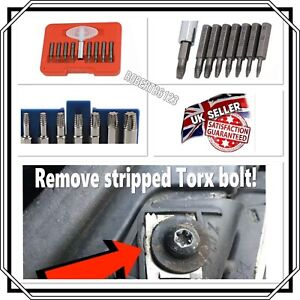 9pc Damaged Torx Extractor Set Massive Time Saver Snap Up On A Bargain
