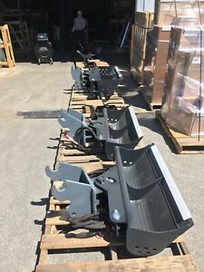 44 Hydraulic Tilt Ditching Grading Bucket For Kubota Mini Excavators