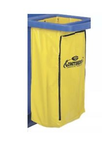 Continental Zippered Vinyl Bag For Janitorial Carts 1 Each
