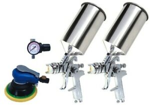 Titan 4 Piece Hvlp Dual Set Up Spray Gun Kit 19223
