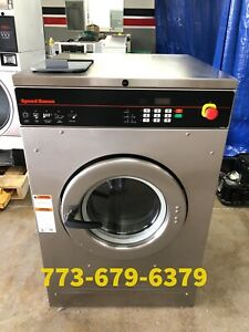 Speed Queen Commercial Washer 30lb Single Phase Opl 2014