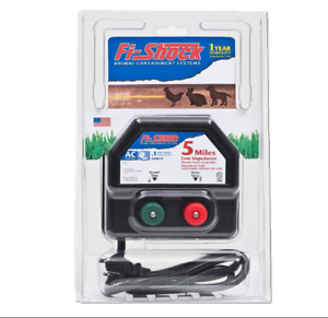 Fi shock Ea5m fs 5 mile Low Impedance Electric Fence Energizer