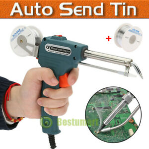 110v 60w Auto Welding Electric Soldering Iron Temperature Gun Solder Tool Kit
