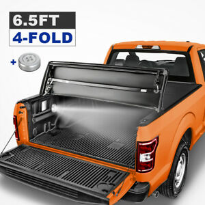1x 6 5ft New 4 Fold Truck Bed Tonneau Cover For 2014 2020 Toyota Tundra Sr Sr5