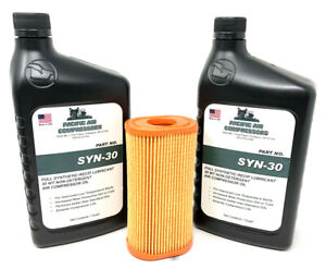 Ingersoll Rand Air Compressor Maintenance Kit Synthetic Oil Air Filter