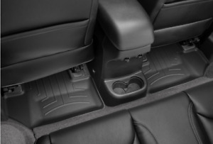 Weathertech Floorliner For Jeep Wrangler 2014 2018 2nd Row Black