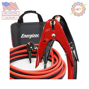 Jumper Battery Cables Energizer 2 Gauge 800a Heavy Duty 16 Ft Booster Jump Start