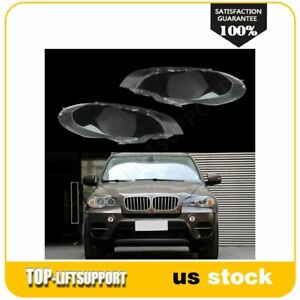 Replacement Headlight Head Light Lens Cover Fits 2008 2014 Bmw X6 E71