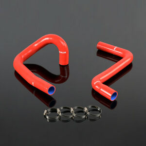 Fit For 1991 1996 Chevy Corvette 5 7l Lt1 V8 Red Silicone Radiator Hose