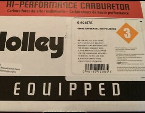 New Never Used 4160 C Holley 600 Polished