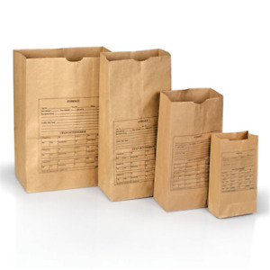 Printed Paper Evidence Bags Style 25 Police Security Use