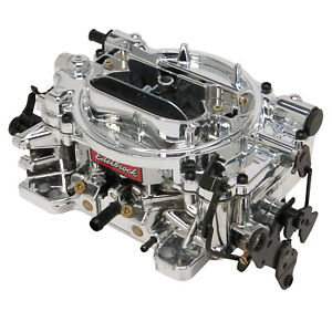 Edelbrock 18044 Carb Thunder Avs 4bar 500cfm Square Manual Choke 1 Inlet