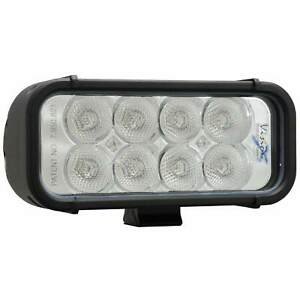 6 Vision X Xmitter Led Light Bar Dual Row Flood Beam With 8 X 3 Watt Leds